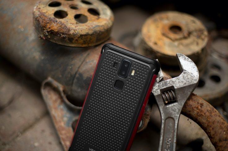 Vernee V2 Pro Outdoor Smartphone Rückseite