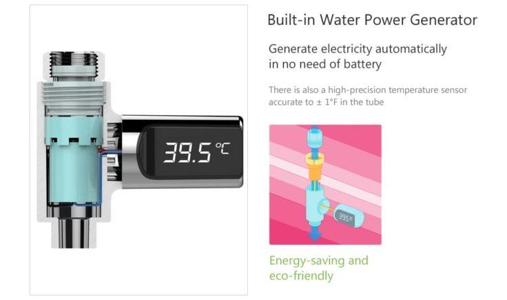Wassergenerator Temperaturmesser