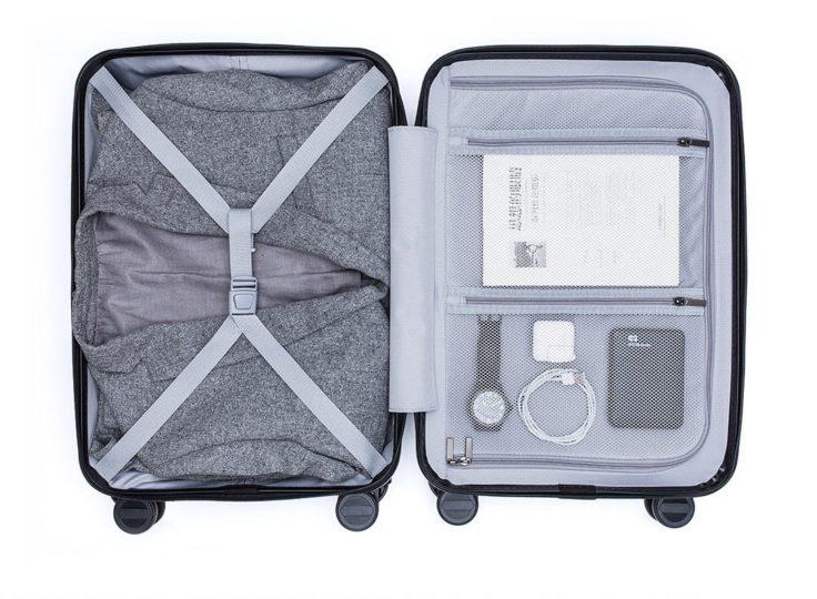 Xiaomi 90Fun Passport Koffer Innenansicht