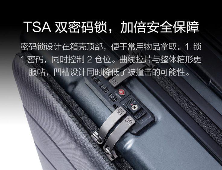 Xiaomi 90Fun Passport Koffer Zahlenschloss