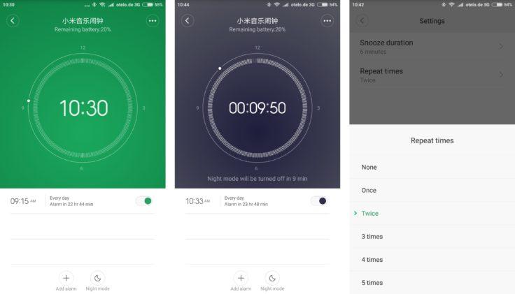 Xiaomi Bluetooth Wecker Mi Home App