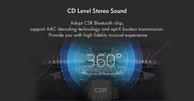Xiaomi LYXQEJ01JY Necklace Bluetooth In-Ear aptX Codec