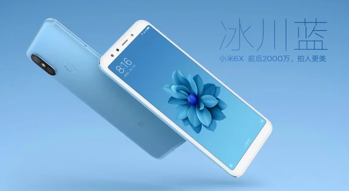 Xiaomi Mi 6X Blau