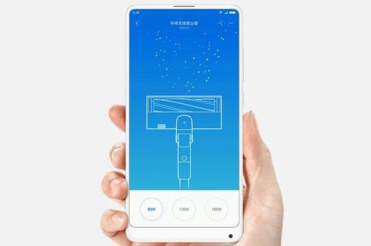 Xiaomi Roidmi F8 Akkustaubsauger App