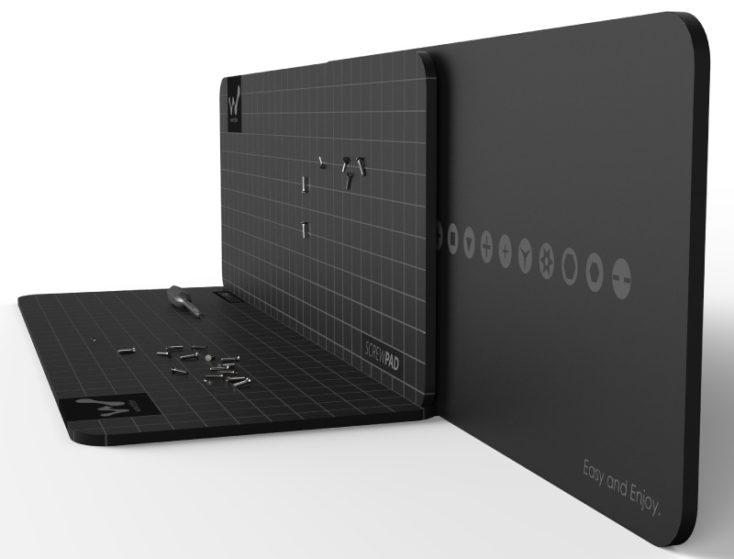 Xiaomi Wowtation Wowpad Magnetunterlage mit Schrauben