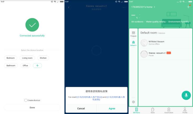 Xiaomi Xiaowa Saugroboter Mi Home App
