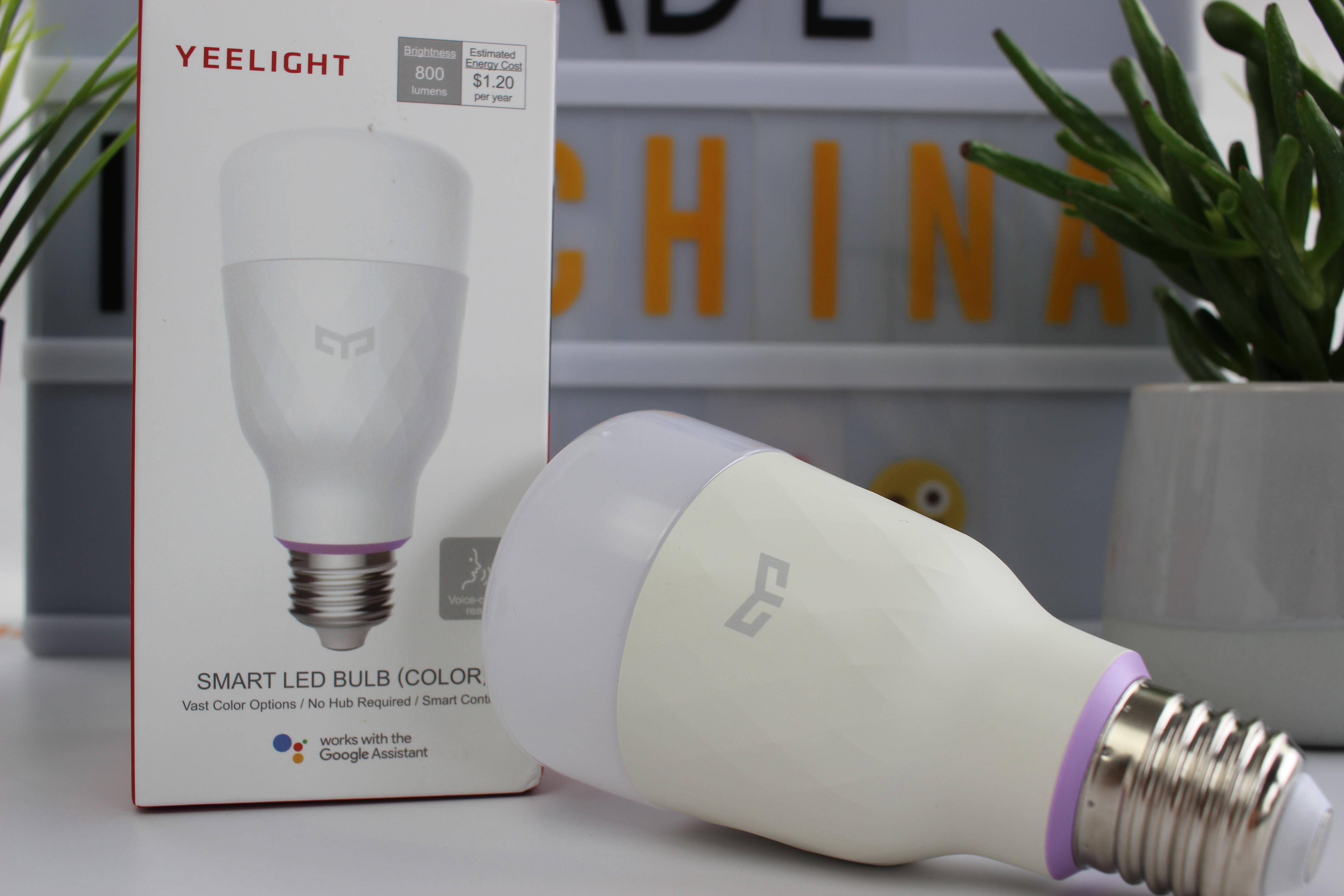 yeelight smart led gl hbirne 2018 test g nstiger start in smart home. Black Bedroom Furniture Sets. Home Design Ideas