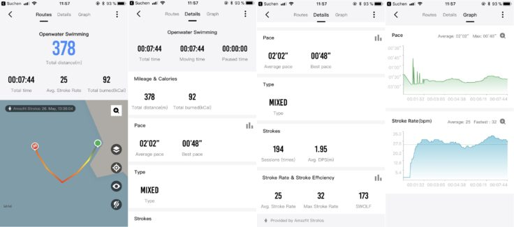 Amazfit Statos Open Waer Screenshots