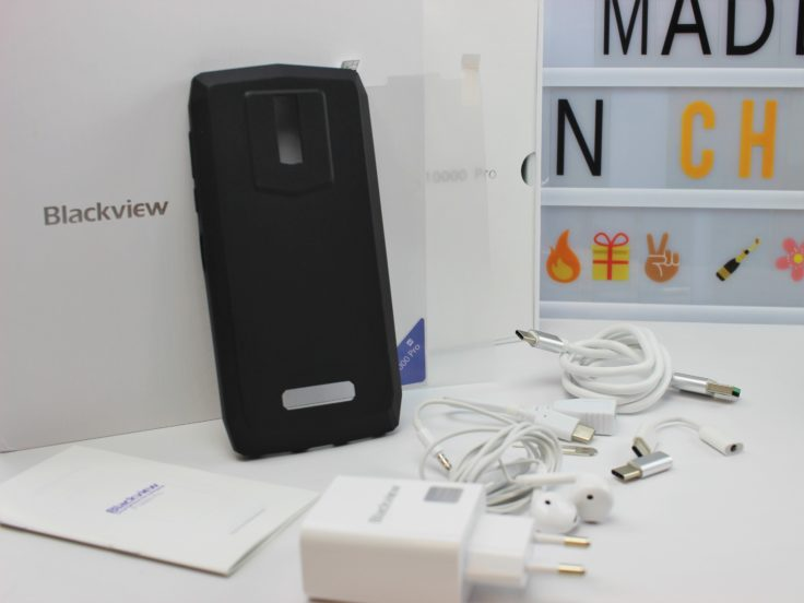 Blackview P10000 Pro Lieferumfang