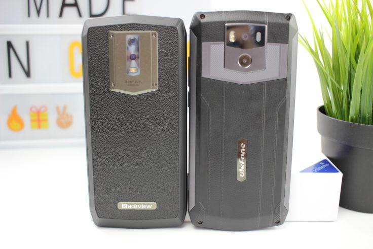 Blackview P10000 Pro vs UleFone Power 5