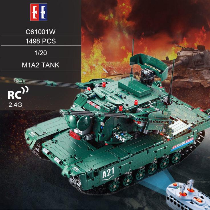 Double E Panzer aus 1500 Teilen