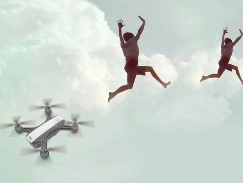 Drohne Flug Gestensteuerung