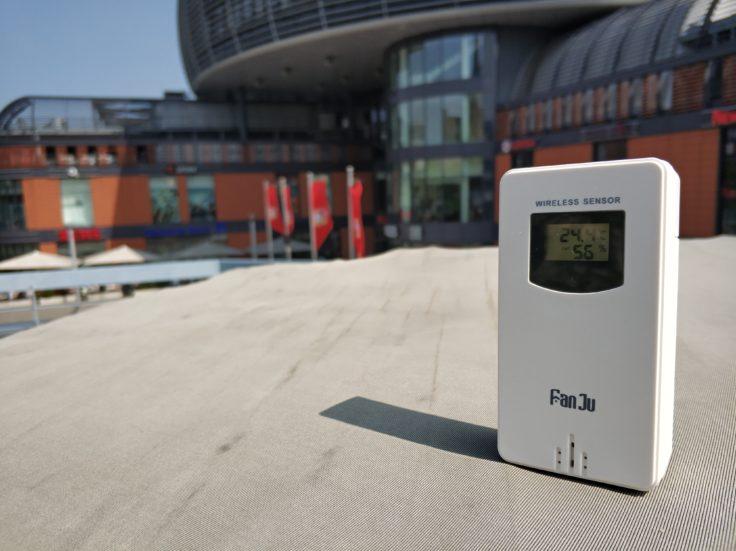 FanJu FJ3365 Wetterstation Außensensor