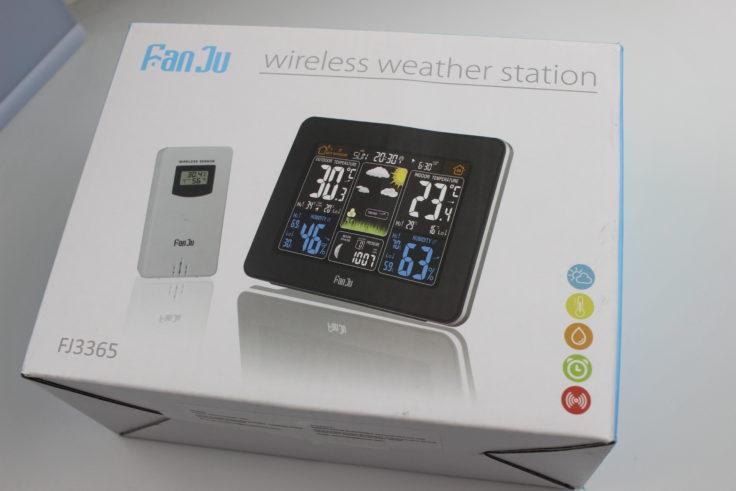 FanJu FJ3365 Wetterstation Verpackung