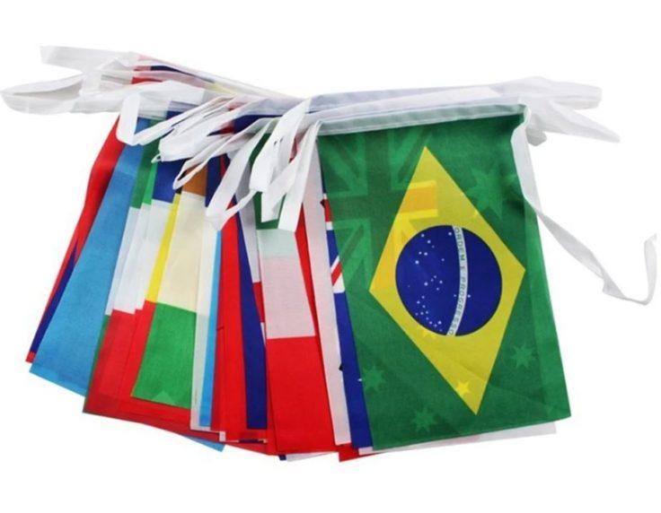 Flaggen WM 2018 Teilnehmerländer