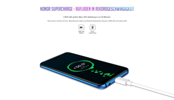 Honor 10 SuperCharge