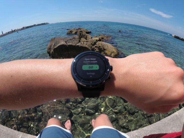 Huami Amazfit Stratos Test im Mittelmeer