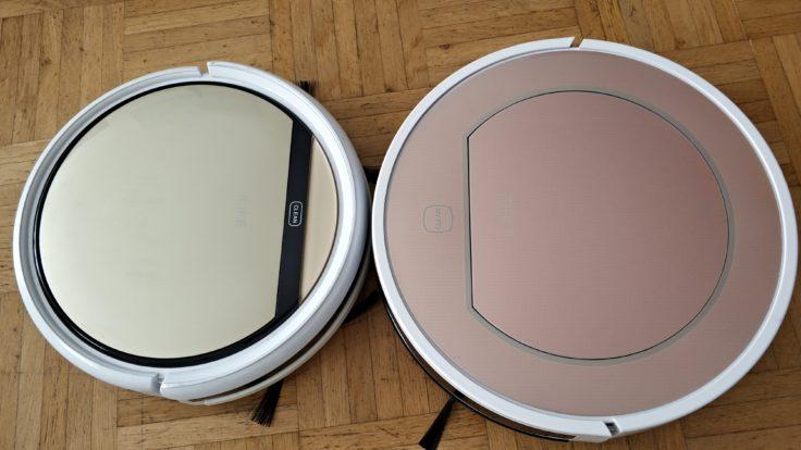 ILIFE V7S Plus Saugroboter Vergleich ILIFE V5S Pro