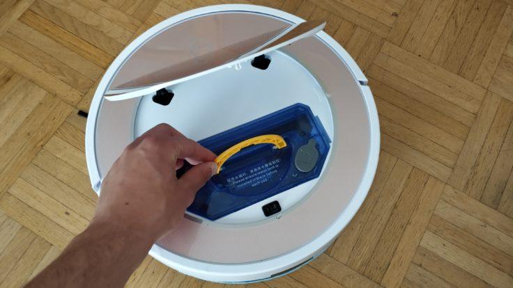 ILIFE V7S Plus Saugroboter Wassertank Klappe