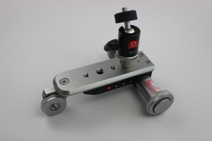 Kingjoy PPL-06S Mini-Dolly mit Kamera-Aufsatz