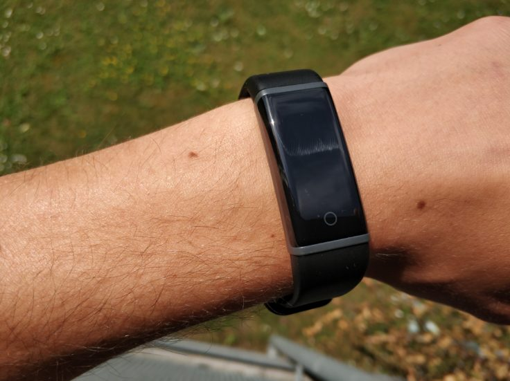 Lenovo Cardio Plus HW03X Smartband Display Lesbarkeit