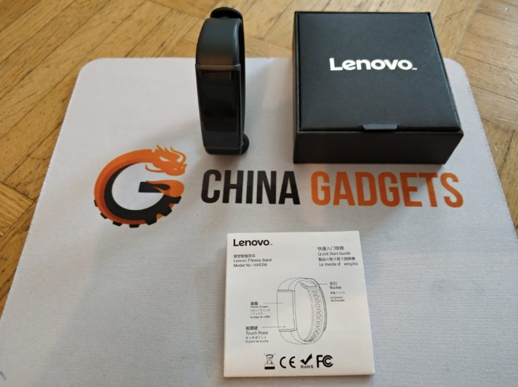 Lenovo Cardio Plus HW03X Smartband Lieferumfang