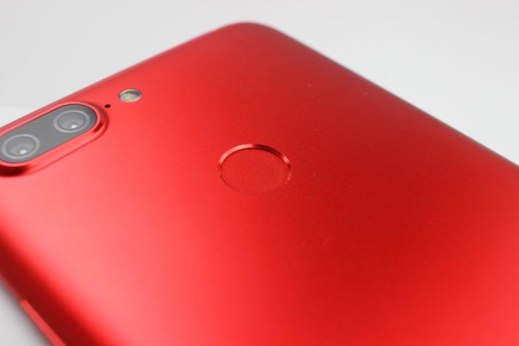 Lenovo S5 Fingerabdrucksensor