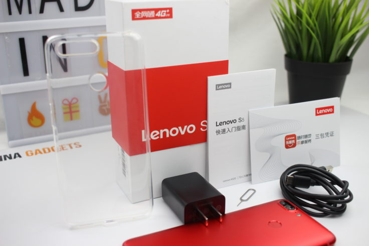 Lenovo S5 Lieferumfang