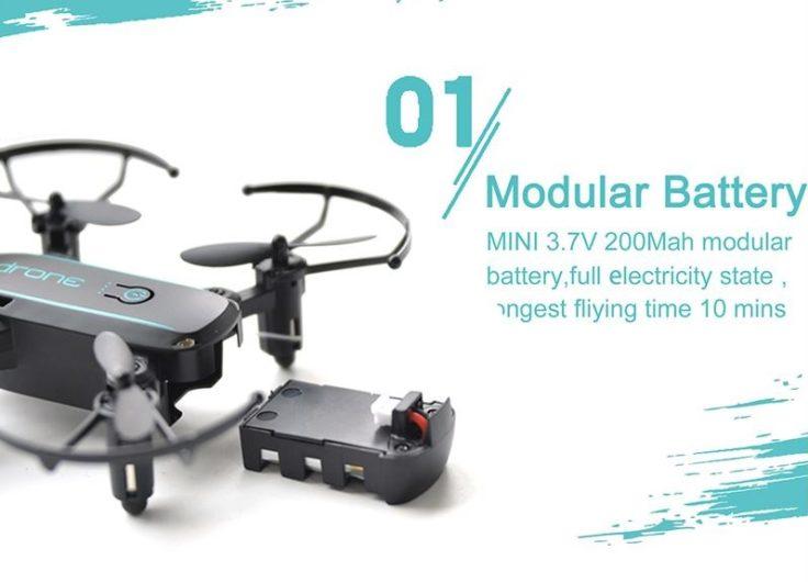 Linxtech IN1601 Mini Drohne Akku