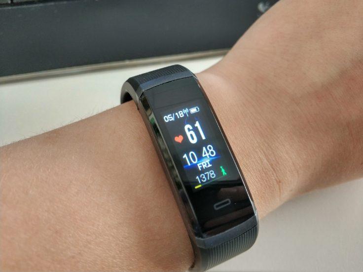 Makibes HR3 Smartband & Fitnesstracker