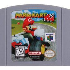 Mario Kart 64 Cartridge