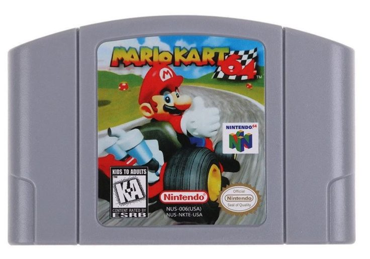 Mario Kart 64 Cartridge