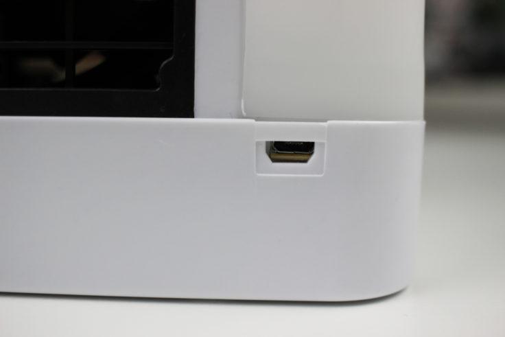 Micro-USB Port Arctic Air Tisch-Klimanlage