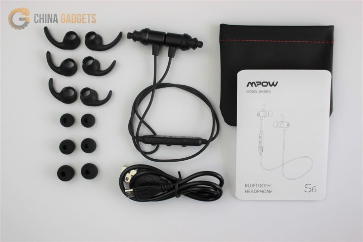 Mpow S6 In-Ear Lieferumfang