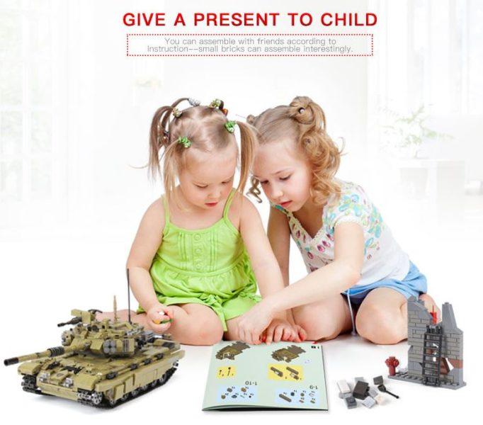 Panzer Kinder Werbung