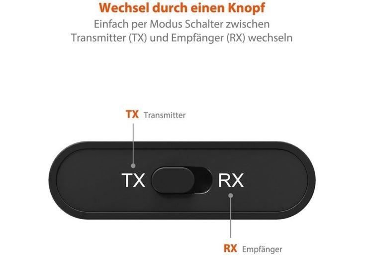 TaoTronics Bluetooth Adapter Sender Empfänger