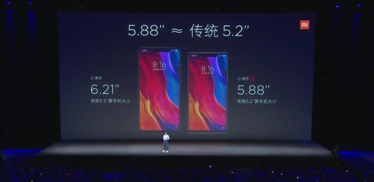 Xiaomi Mi 8 und 8 SE Preise