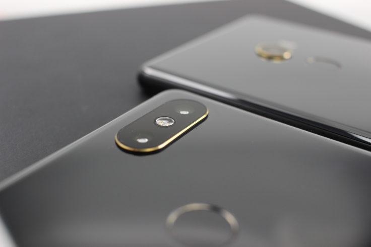 Xiaomi Mi Mix 2S Dual Kamera Vergleich Mix 2