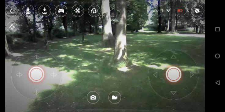 Xiaomi Mitu Drohne MiDroneMini App Screenshot (1)