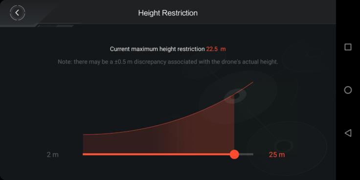 Xiaomi Mitu Drohne MiDroneMini App Screenshot (4)