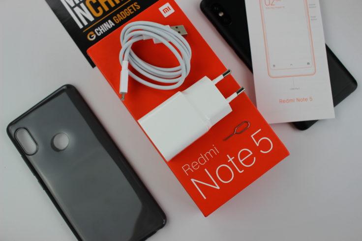 Xiaomi Redmi Note 5 Lieferumfang