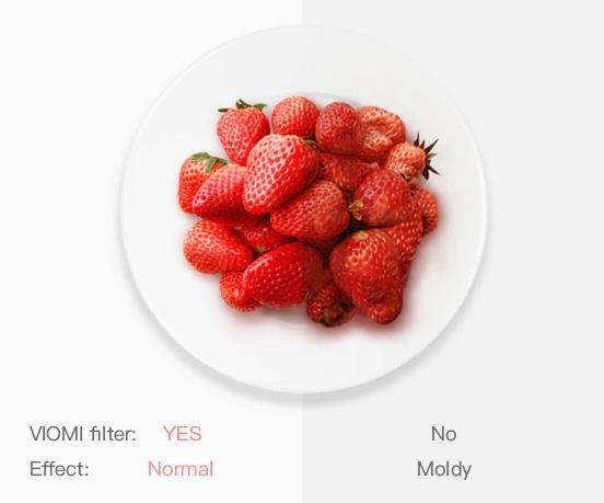 Xiaomi VIOMI Erdbeere Effekt
