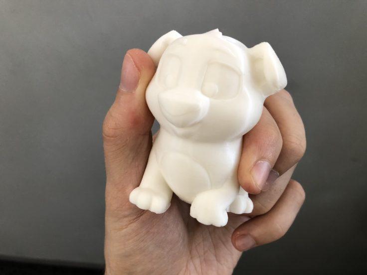Oberfläche des 3D-Drucks