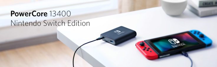 Anker Powerbank Nintendo Switch
