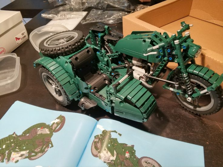 Doubleeagle Motorrad Aufbau (1)