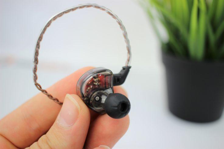 KZ ES4 Kopfhörerkabel mit Hörer