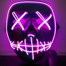 LED Lichtmaske Lila