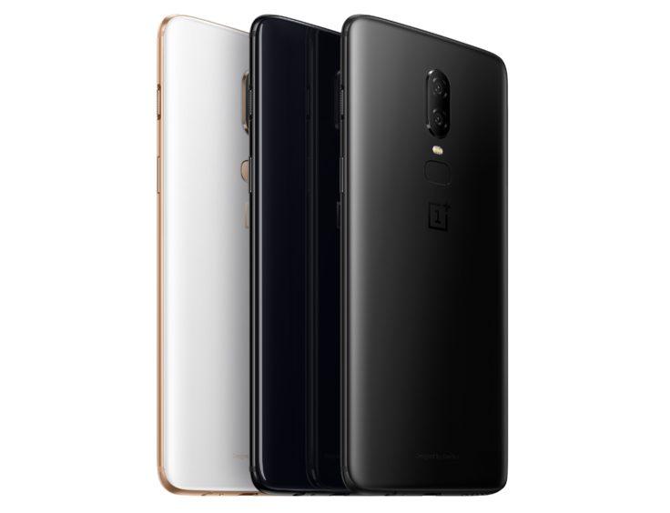 OnePlus 6 Farbvarianten