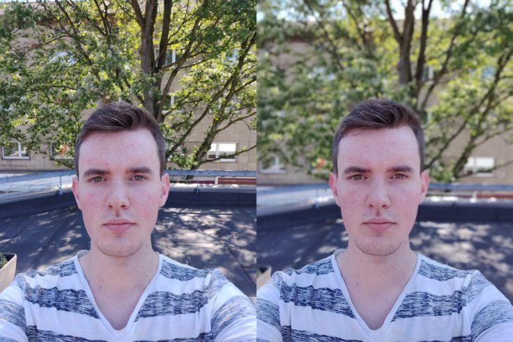 OnePlus 6 Selfies