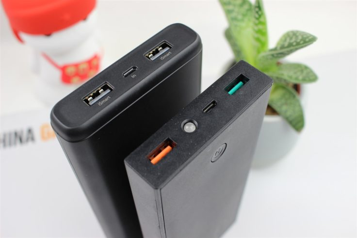 RAVPower 20.000 mAh Powerbank Vergeich AUKEY